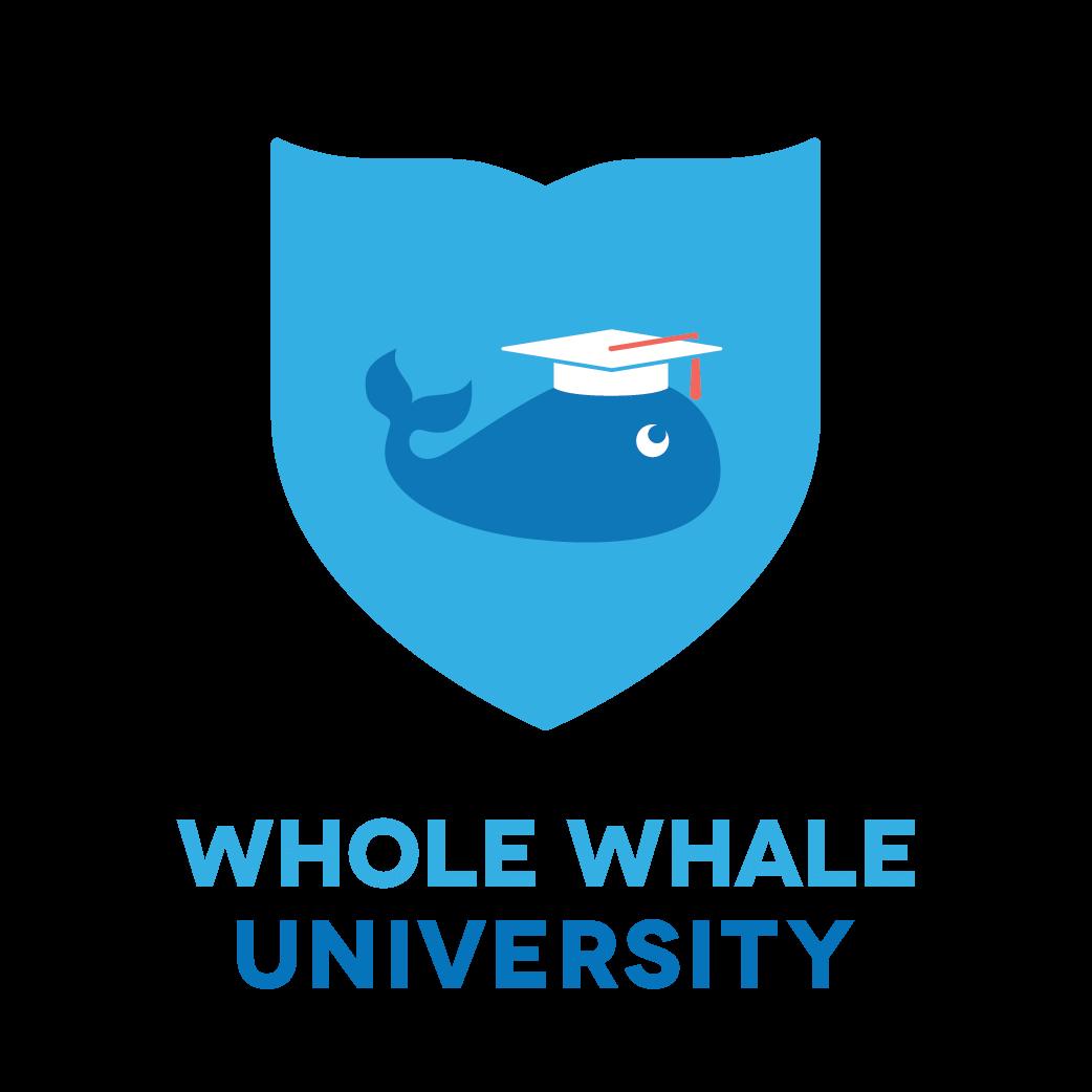 Whole Whale University logo