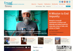 Ensaaf.org - A Mission to End Impunity
