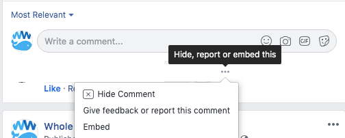 how to handle negative comments on facebook