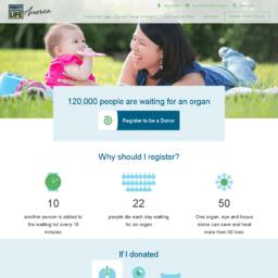 donate life america client