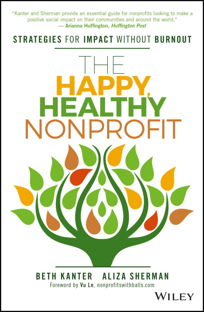 beth kanter happy healthy nonprofit