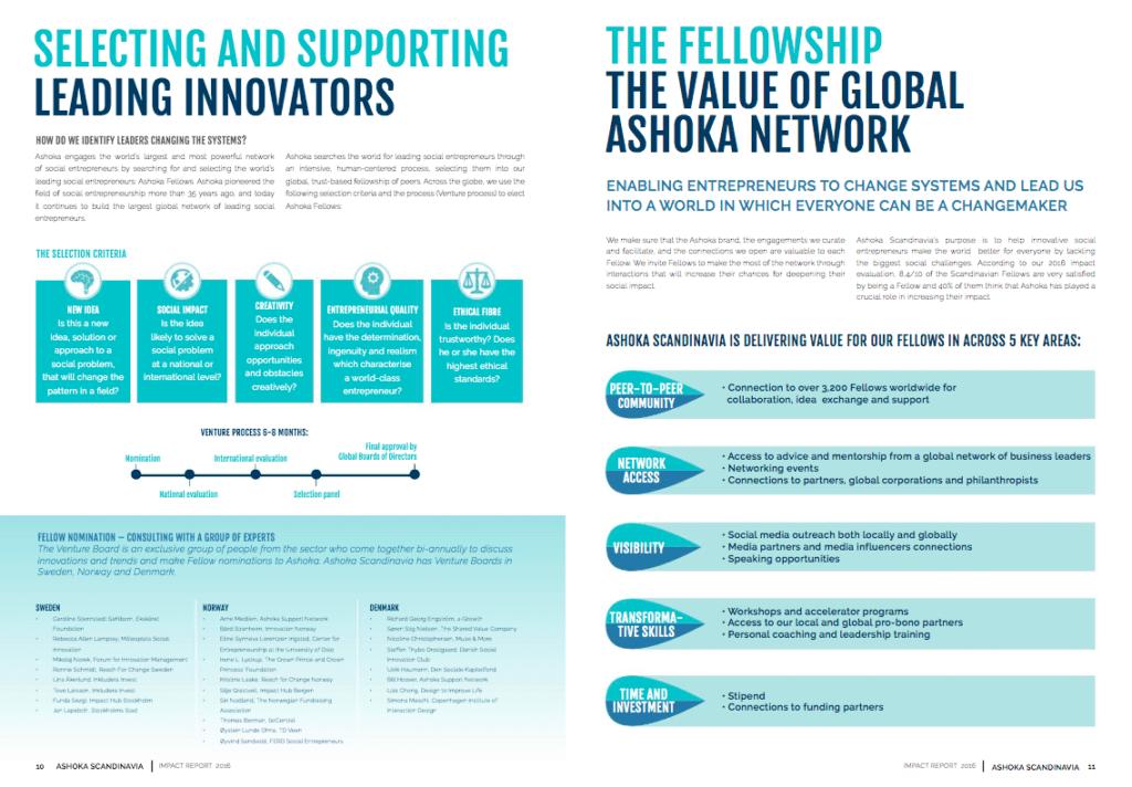 Ashoka Scandinavia Annual Report 2016