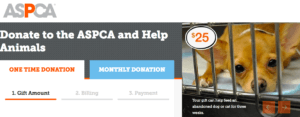 ASPCA-donation-page