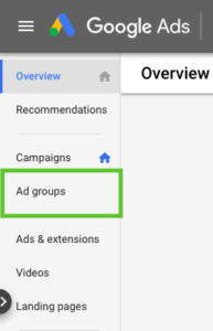 Google Ad Group