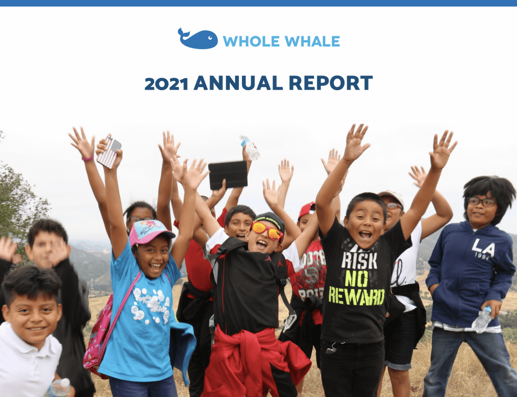 Sample cover page for nonprofit annual report template